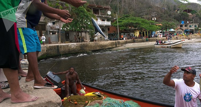 Pobladores de Chuao encontraron en la pesca una forma de sobrellevar la crisis que enfrenta Venezuela
