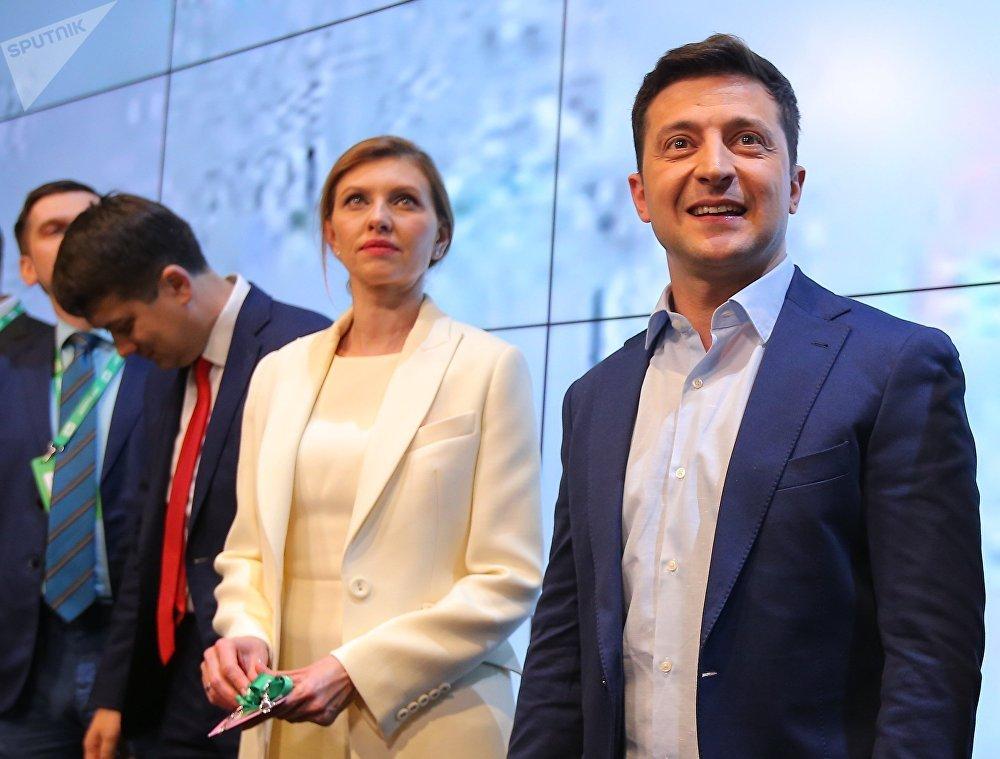 Volodímir Zelenski, presidente electo de Ucrania (41 años)