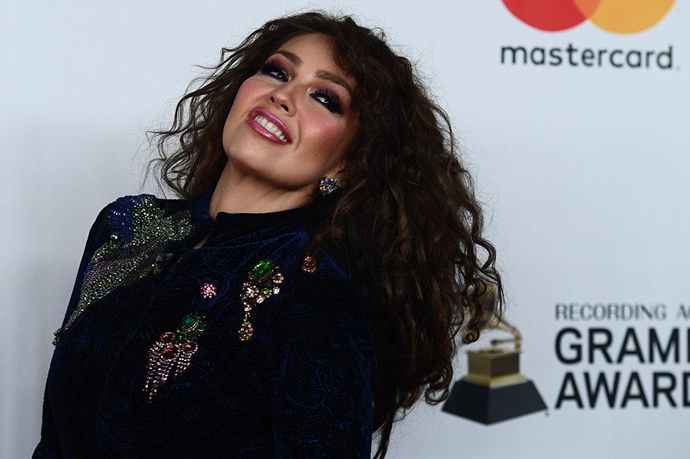 Thalía, cantante y actriz mexicana (47años)