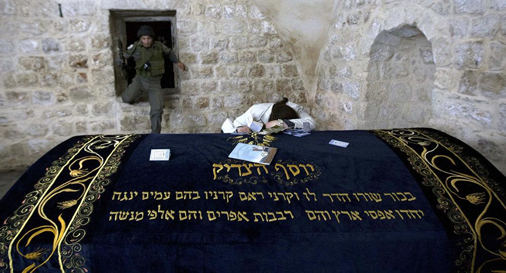La tumba de José en Cisjordania