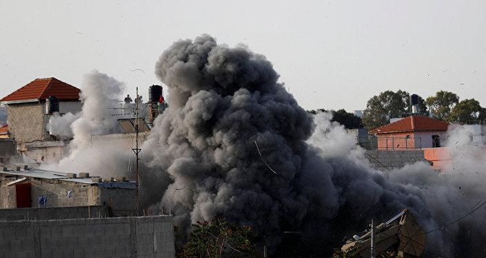 La demolición de la vivienda familiar de un miliciano palestino en Cisjordania