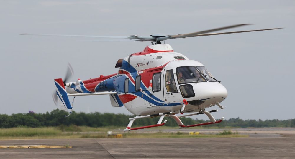 Ansat light helicopter