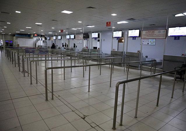 Un aeropuerto en Libia (archivo)
