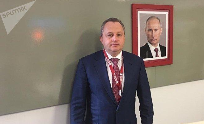 Igor Chechikov, director general de soporte posventas de Helicópteros de Rusia, en FAMEX 2019