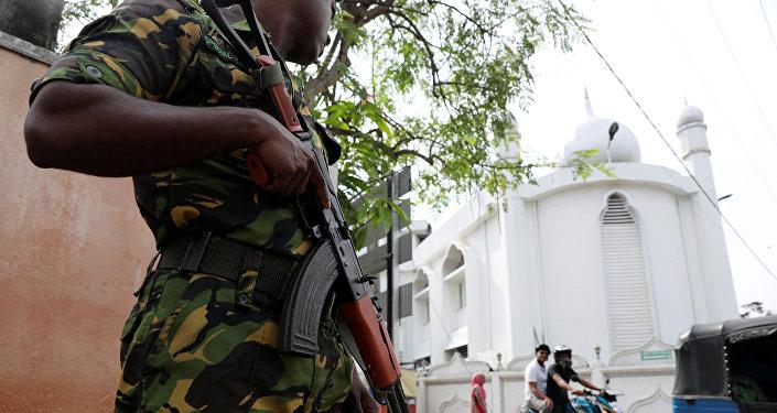 Un militar esrilanqués