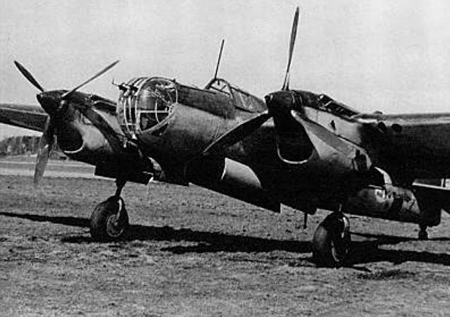 Un avión Tupolev SB (archivo)