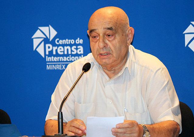 Silvio Platero, presidente del Movimiento Cubano por la Paz y la Soberanía de los Pueblos