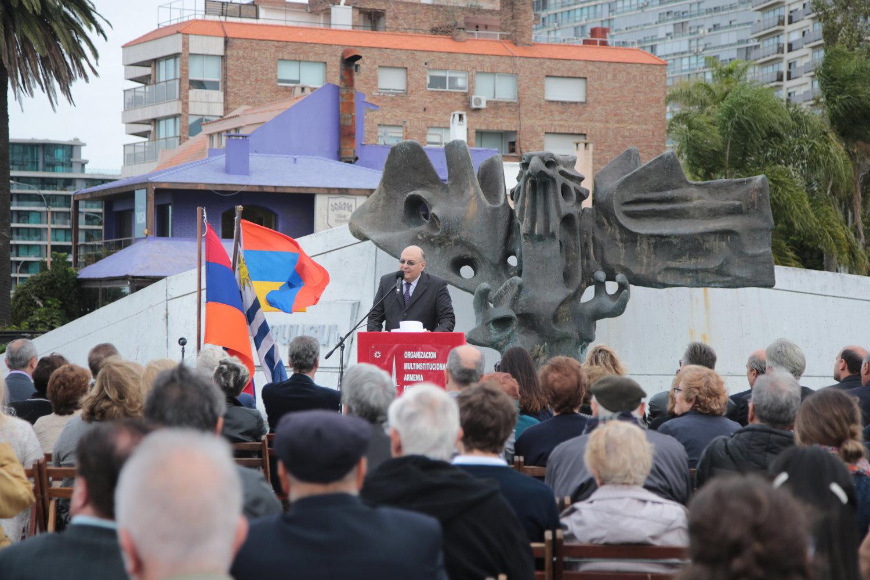 Acto recordotario del genocidio armenio (Uruguay)
