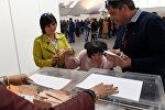 Una ciudadana española con discapacidad intelectual vota por primera vez