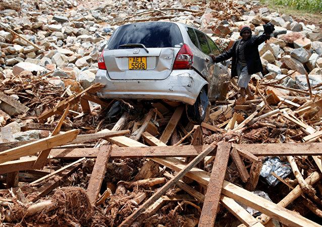 Consecuencias del ciclón Idai