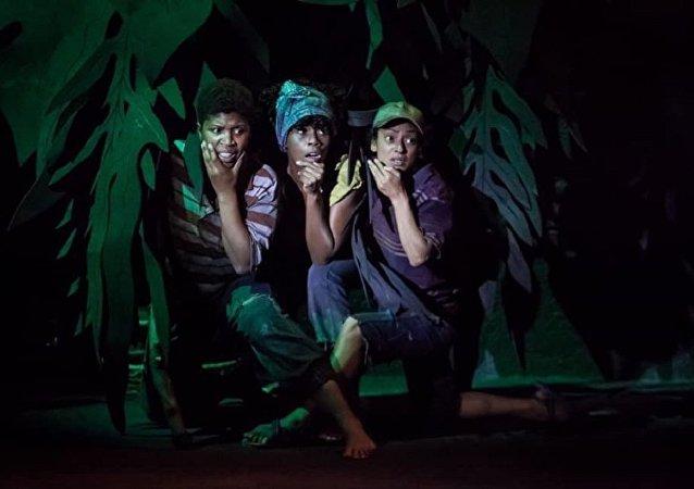 'Niños chocolate', obra de Mulato Teatro en Ticumán