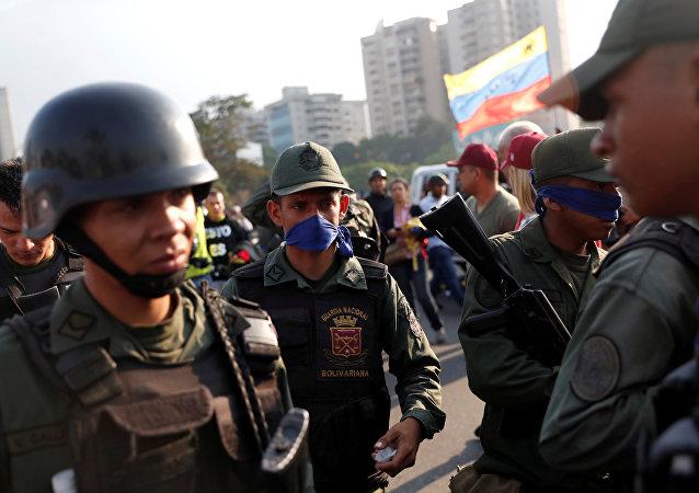 Situación en Caracas