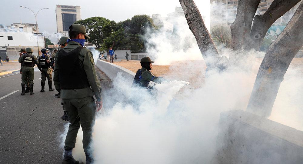 Situación en Caracas, Venezuela