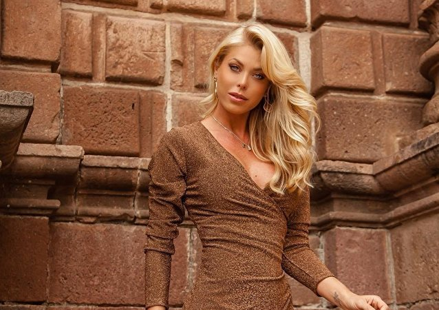 Caroline Bittencourt, modelo brasileña