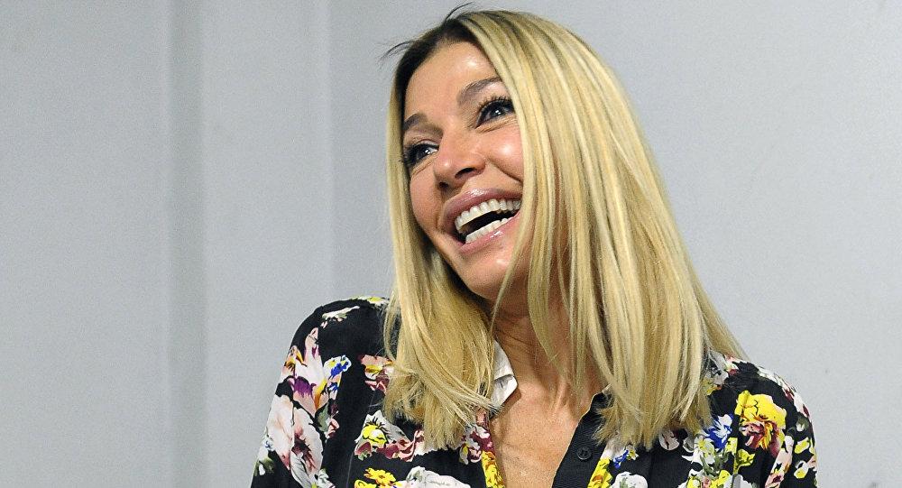 La actriz y modelo venezolana Catherine Fulop