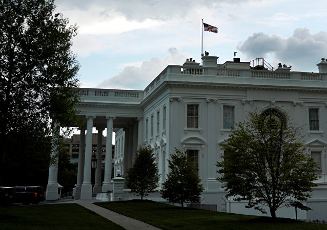 La Casa Blanca en Washington, EEUU