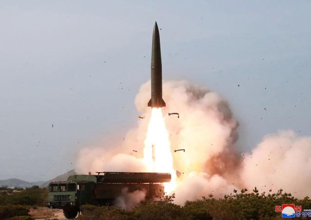 Prueba de armas de Corea del Norte