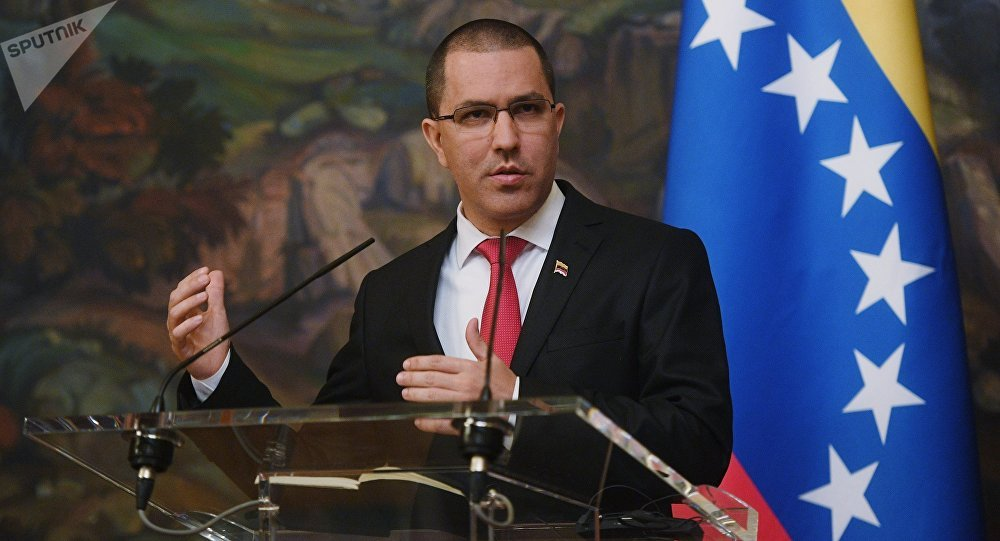 Jorge Arreaza, canciller de Venezuela