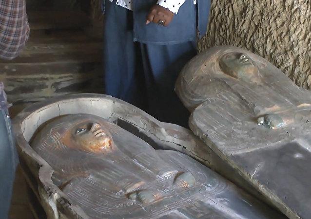 Egipto anuncia el descubrimiento de un cementerio de 4.500 años