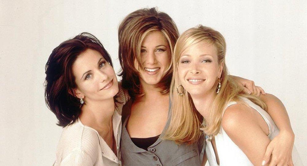 Las protagonistas de Friends