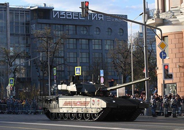 Un tanque T-14 Armata