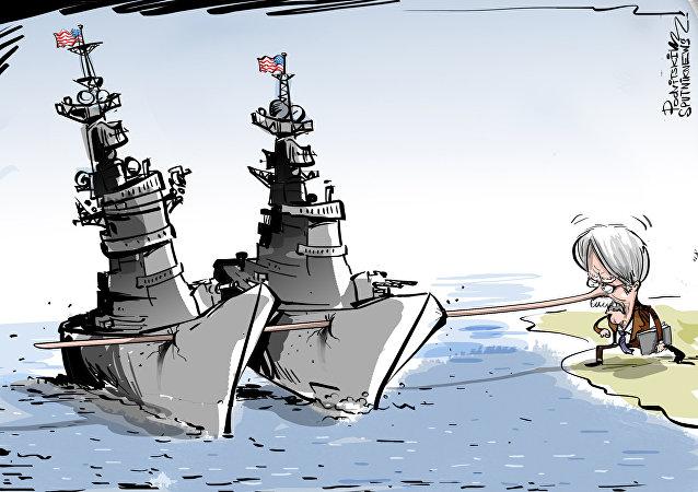 John Bolton y el farol de los portaviones