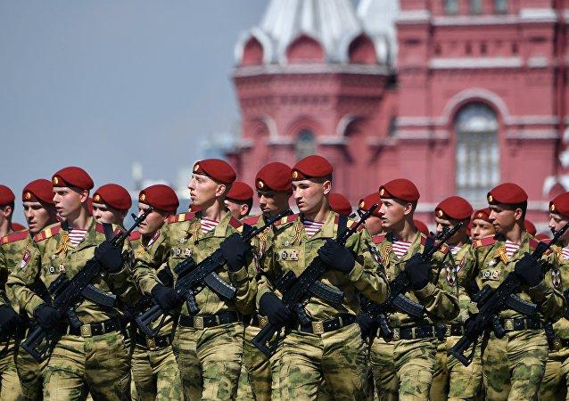 Efectivos de la Guardia Nacional de Rusia