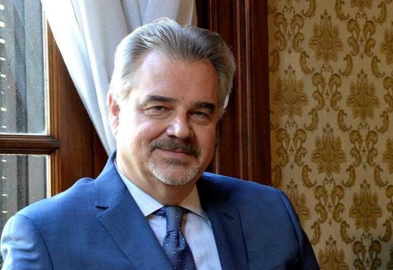 Nikolay Sofinskiy, embajador de la Federación de Rusia en Uruguay.