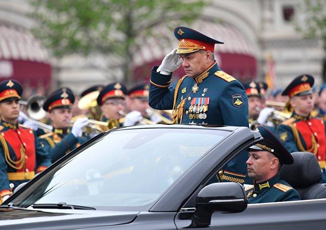 Serguéi Shoigú, ministro de Defensa de Rusia, durante el Desfile de la Victoria de 2019