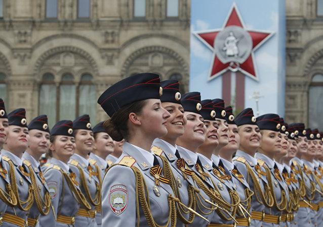 El desfile militar dedicado al 74 aniversario de la victoria en la Gran Guerra Patria