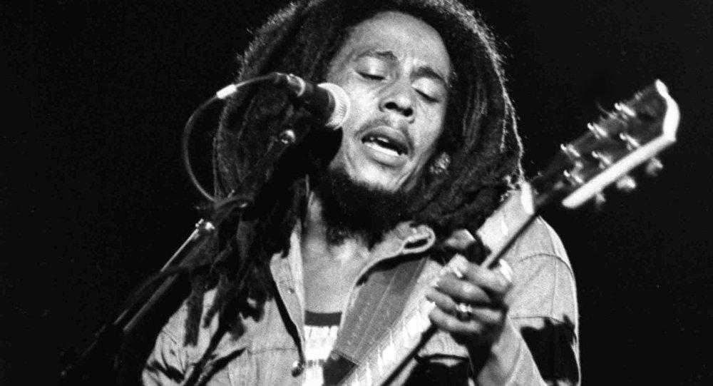 Bob Marley en 1980