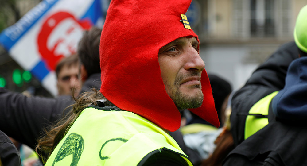 Protestas de los 'chalecos amarillos' (Archivo)