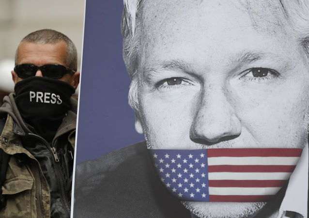 El retrato de Julian Assange