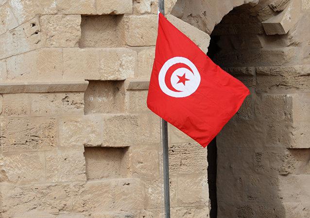 La bandera de Túnez