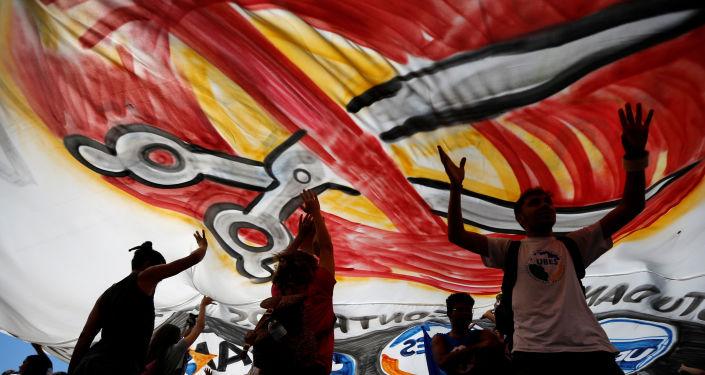 Protestas en Brasil contra recortes en educación pública