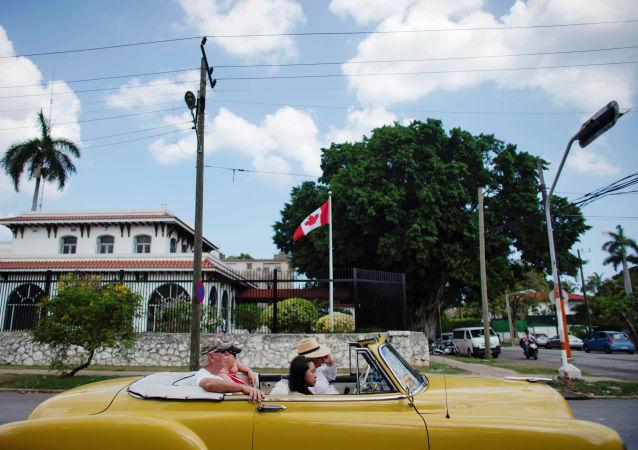 La Embajada de Canadá en la Habana, Cuba