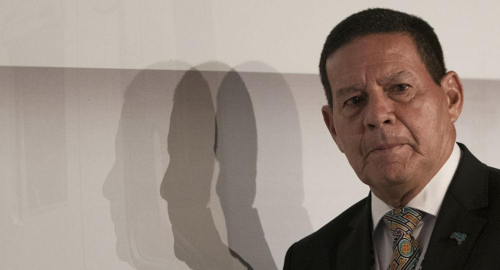 El vicepresidente brasileño, Antonio Hamilton Mourao
