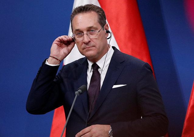 Heinz-Christian Strache, vicecanciller de Austria