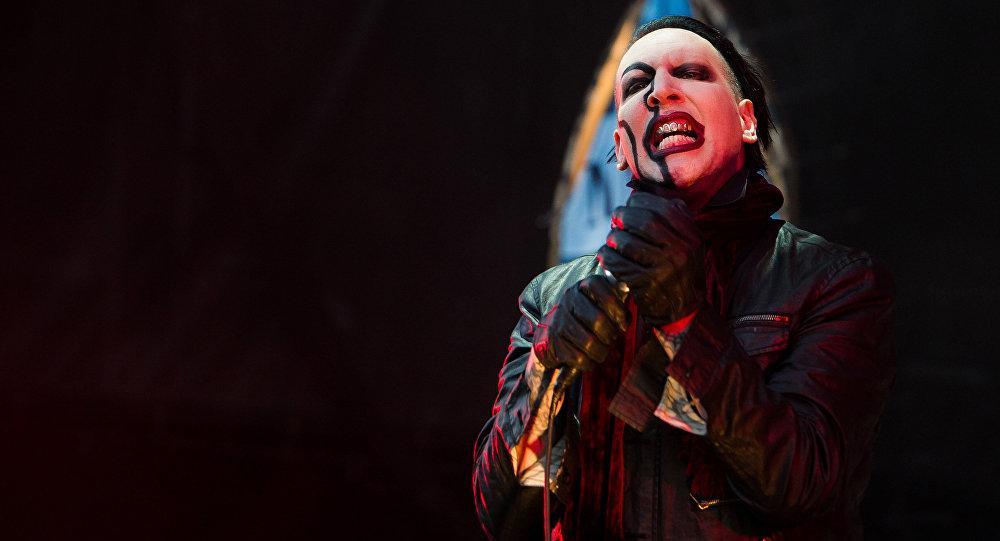 Marilyn Manson, cantante estadounidense