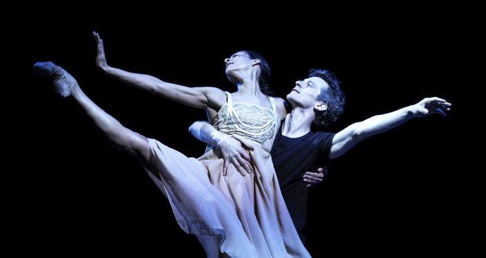 La bailarina mexicana Elisa Carrillo Cabrera