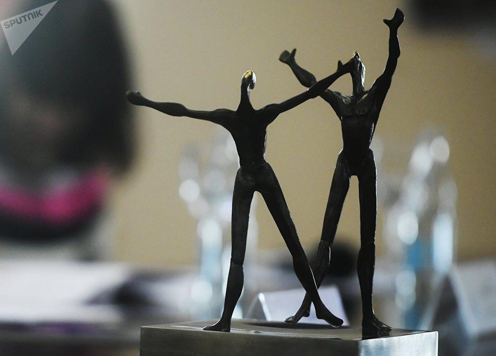 La estatuilla de Benois de la Danse