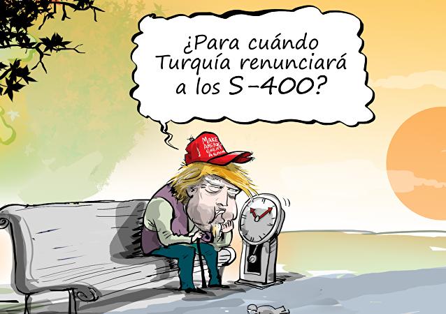 Trump espera sentado a que Turquía renuncie a los S-400
