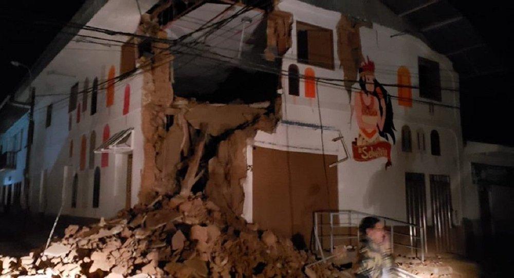 Terremoto en Perú