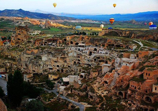 La región histórica de Capadocia