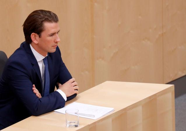 Sebastian Kurz, canciller de Austria