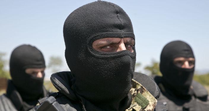 Un militar de Kosovo
