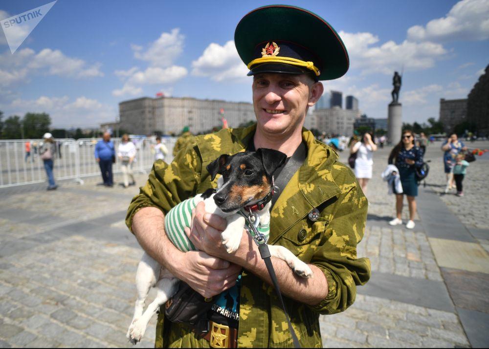 Rusia celebra el Día de la Guardia Fronteriza