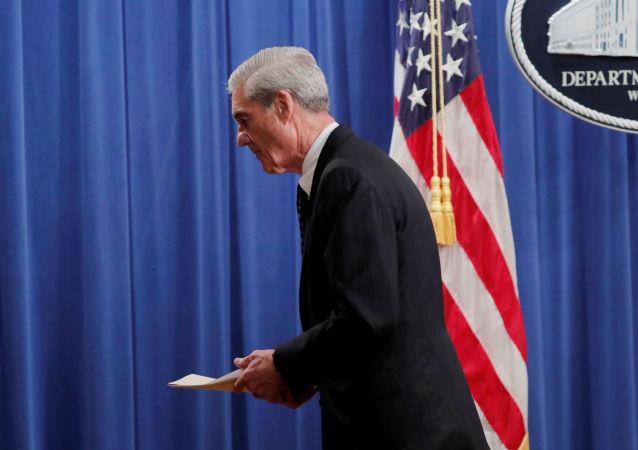 El fiscal especial estadounidense Robert Mueller