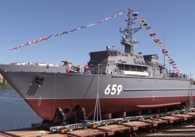 Rusia bota el nuevo dragaminas Vladimir Emelianov