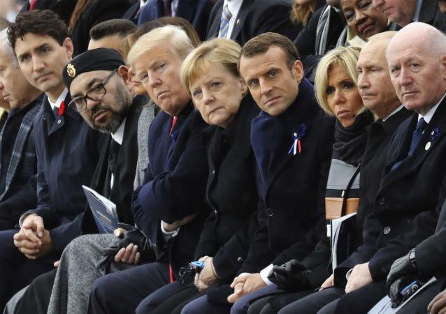 Líderes mundiales (referencial)